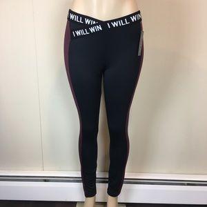 Energie Women's Leggings Size Medium Black